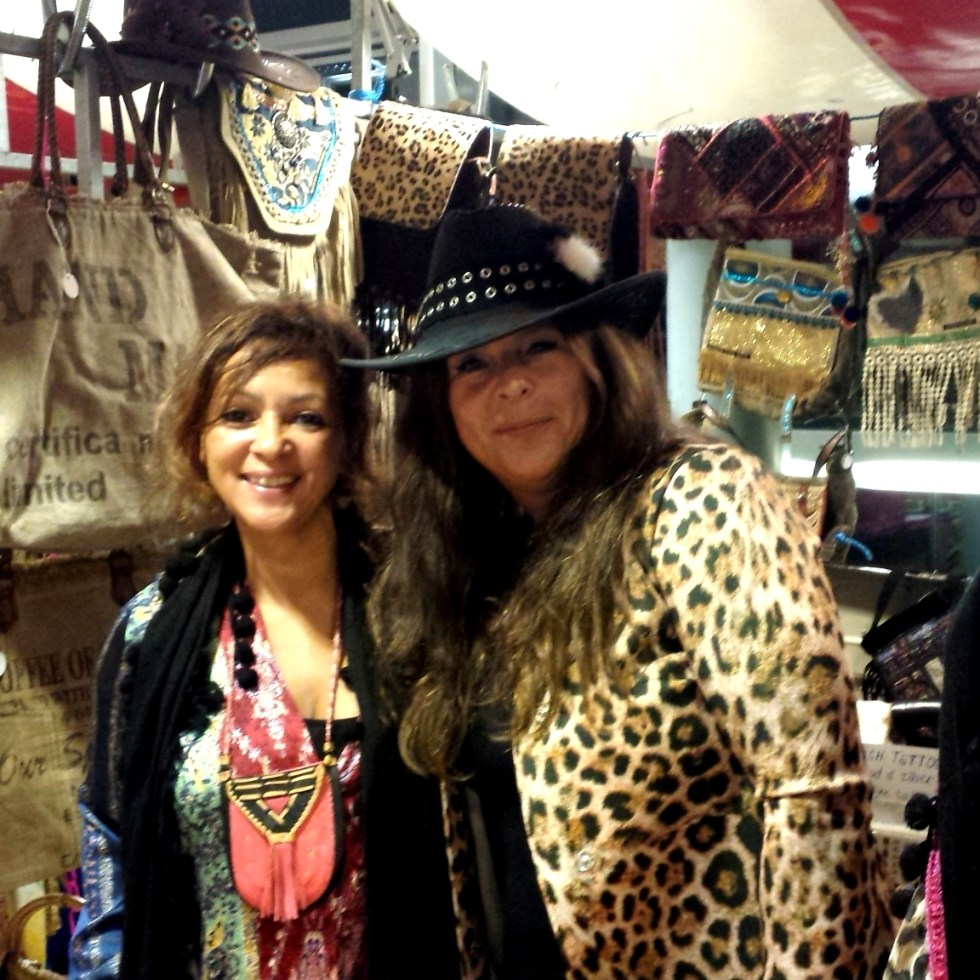 Happy Customer with Black Dazzling Gypsy Queen Cowboy hat