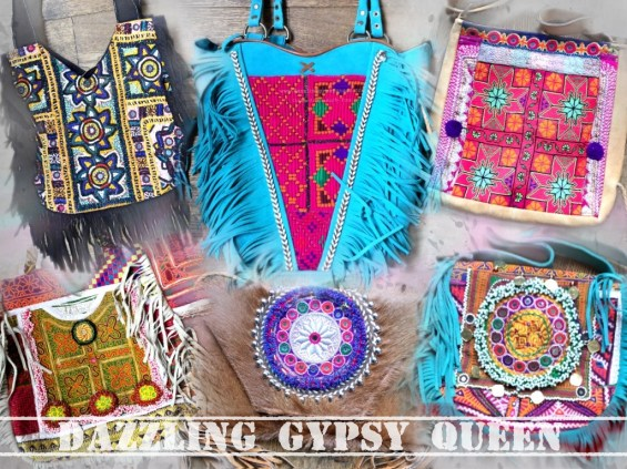 Banjara boho Ibizabag by Dazzling Gypsy Queen