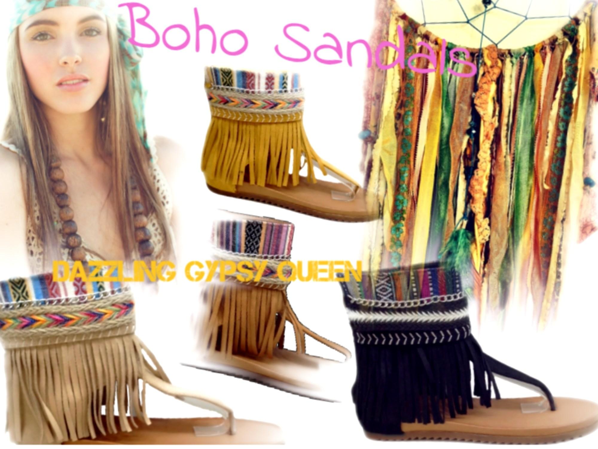 Ibiza sandalen, Ibiza shoes, Ibiza franje shoes @ Dazzling Gypsy Queen