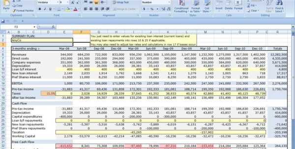 Personal Cash Flow Excel Template Cash Flow Excel Spreadsheet