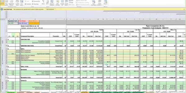 Labor Estimate Template Estimate Spreadsheet Template Estimate