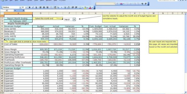 Budget Spreadsheet Template Free Budget Spreadsheet Template Excel