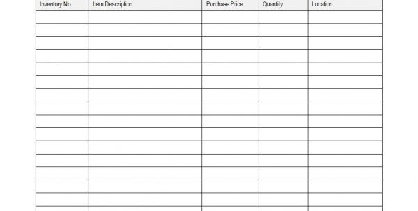 Inventory Tracking Sheet Template Inventory Tracking Spreadsheet