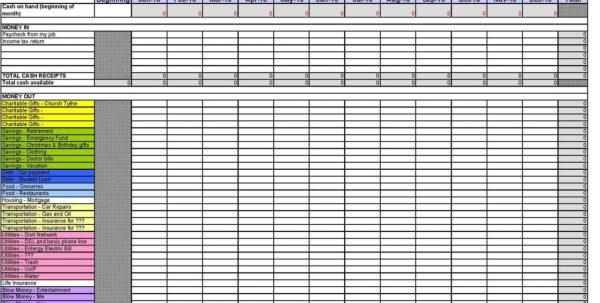 Marketing Budget Spreadsheet1 Sample Marketing Budget Spreadsheet