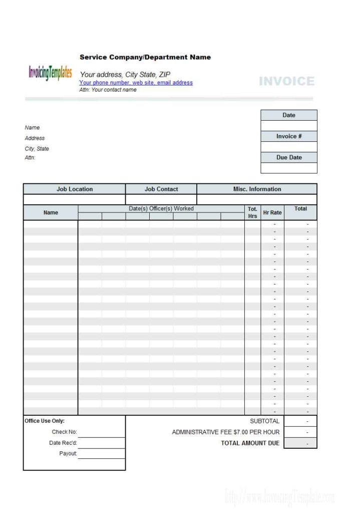 Monthly Timesheet Template Free Download Time Spreadsheet Template
