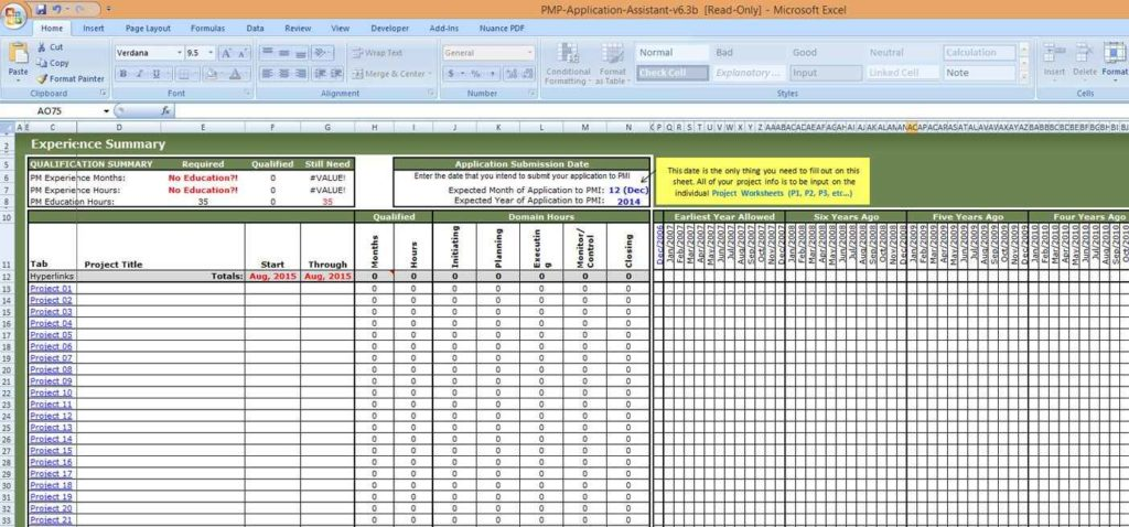 Project Tracking Spreadsheet Template Excel Task Tracking
