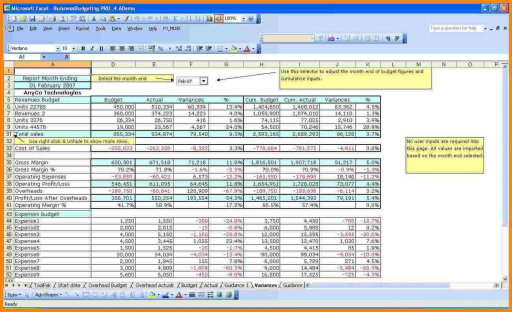 Sample Budget Template For Non Profit Organization Sample Budget