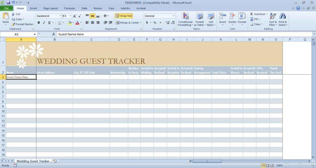 Wedding Budget Excel Spreadsheet South Africa Wedding Planning