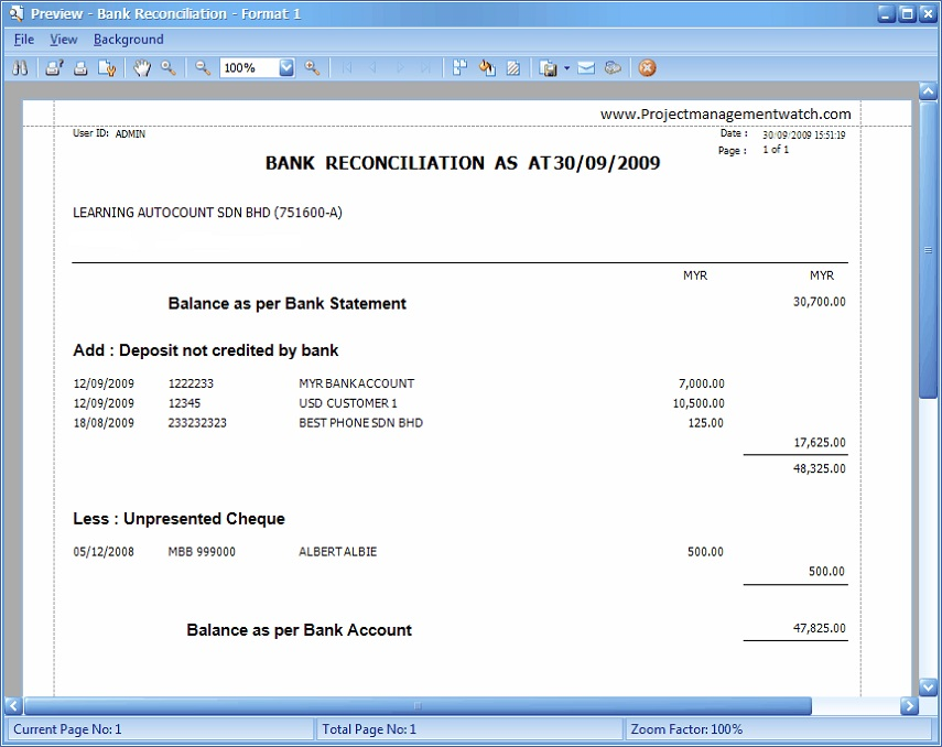 Free Printable Check Register Excel Bank Account Template