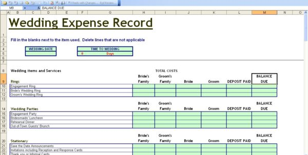 Small Business Expense Report Template Expense Tracking Spreadsheet