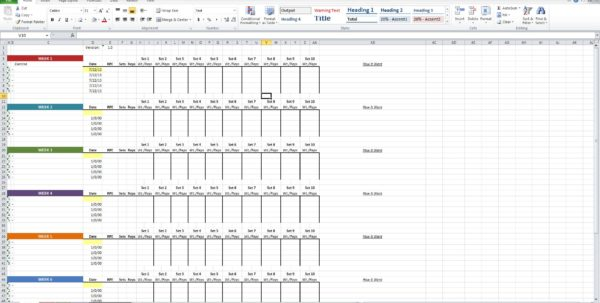 Excel Training Matrix Examples Spreadsheets Training Spreadsheet