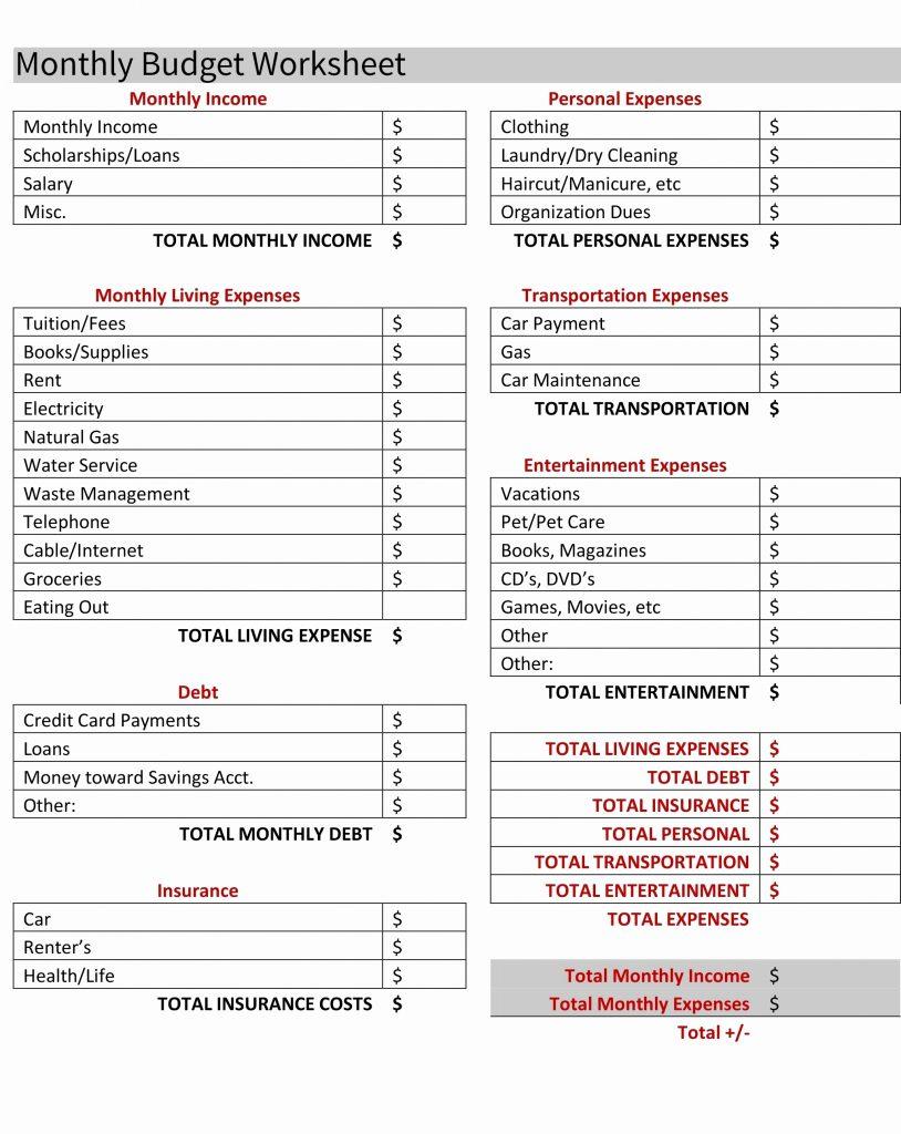 home loan comparison spreadsheet