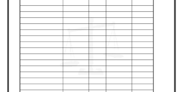 Double Entry Bookkeeping Excel Spreadsheet Free Double Entry