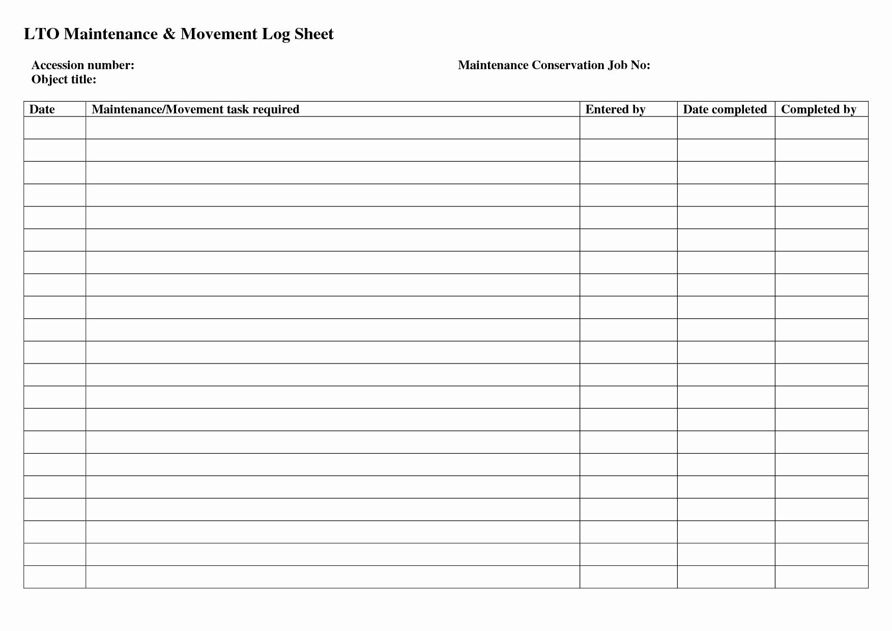 auto maintenance schedule spreadsheet
