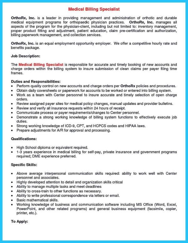 sample resume credentialing specialist