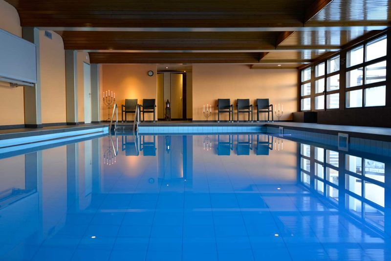 Indoor Pool Hannigspa Ch Hotel Hannigalp Family - Indoor Schwimmbad