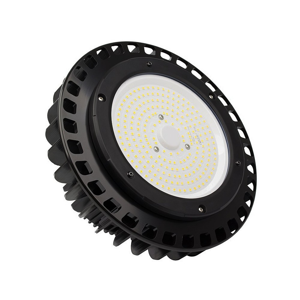 éclairage Industriel Led Philips Cloche Led Philips Ufo Sq 150w 129lm W Mean Well Elg Dimmable Eclai