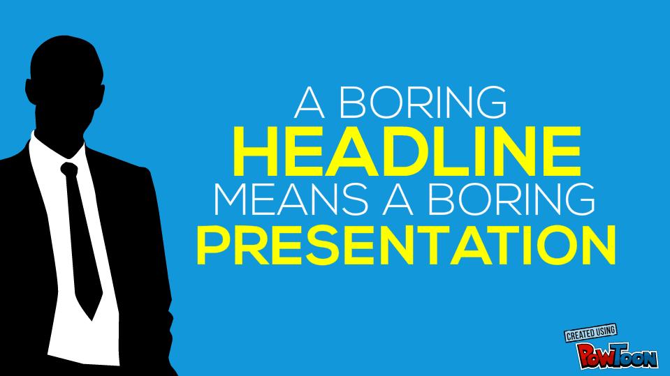 91 Awesome Headline Formulas To Make Your Presentations