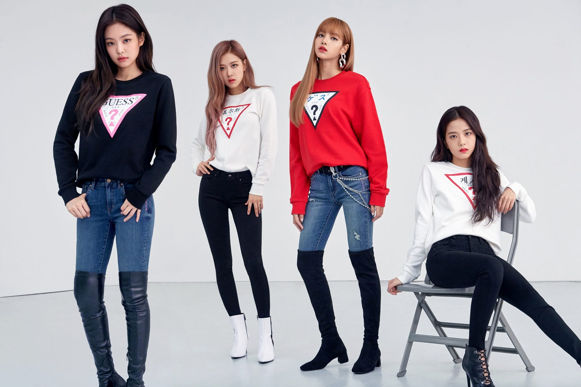 Kids Fall Wallpaper Blackpink For Guess Fw 2018 Hd Photos K Pop Database