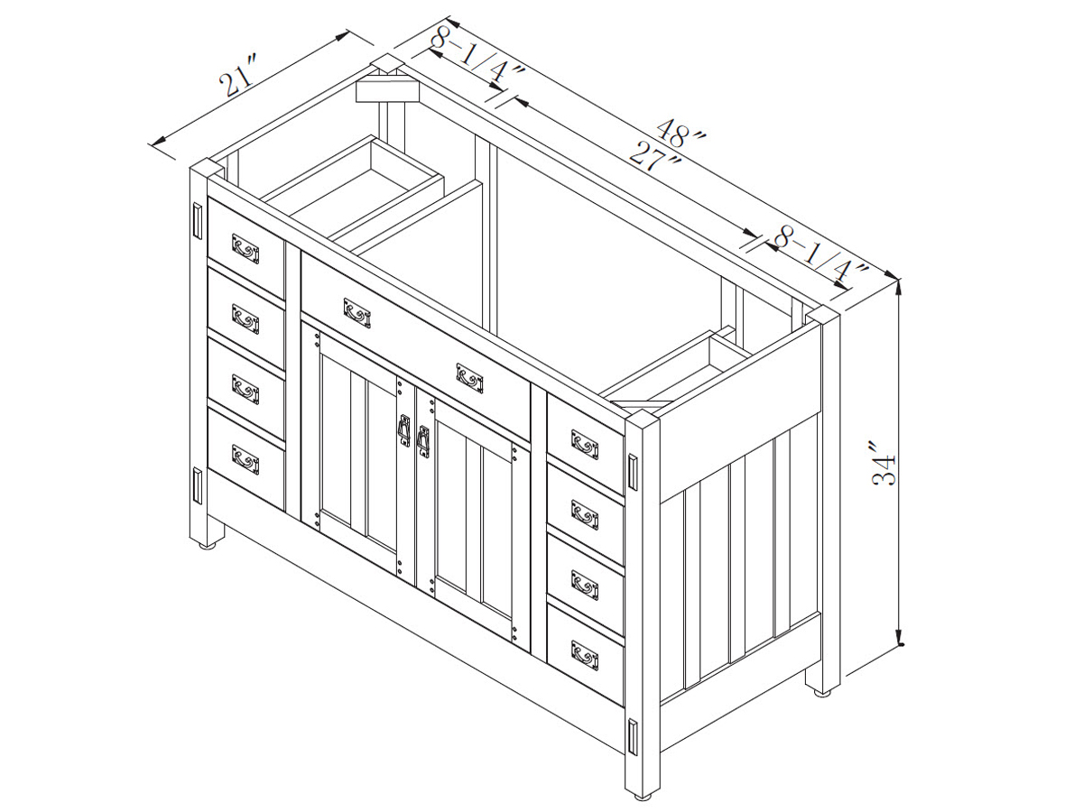 Bathroom Vanity Cabinet Sizes Bathroom Vanity Cabinet Dimensions Size
