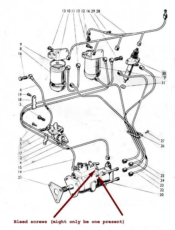 diesel fuel system wiring diagram