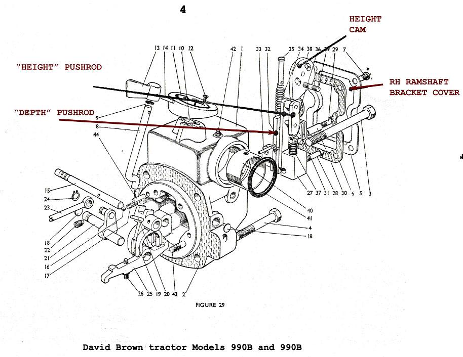 david brown 990 engine diagram