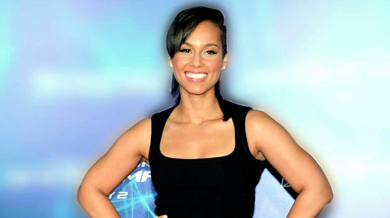 Picture of Alicia Keys used for representational purposes only.