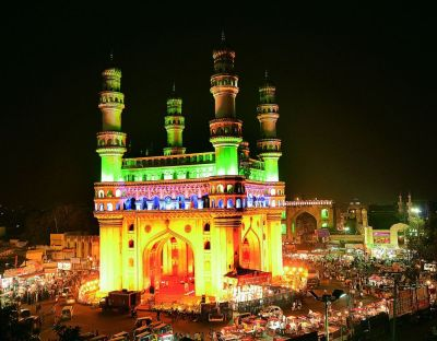 No entry for single women in Charminar?