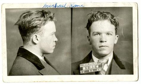 Prisoner Identification Photograph of Michael Kane Lloyd Sealy