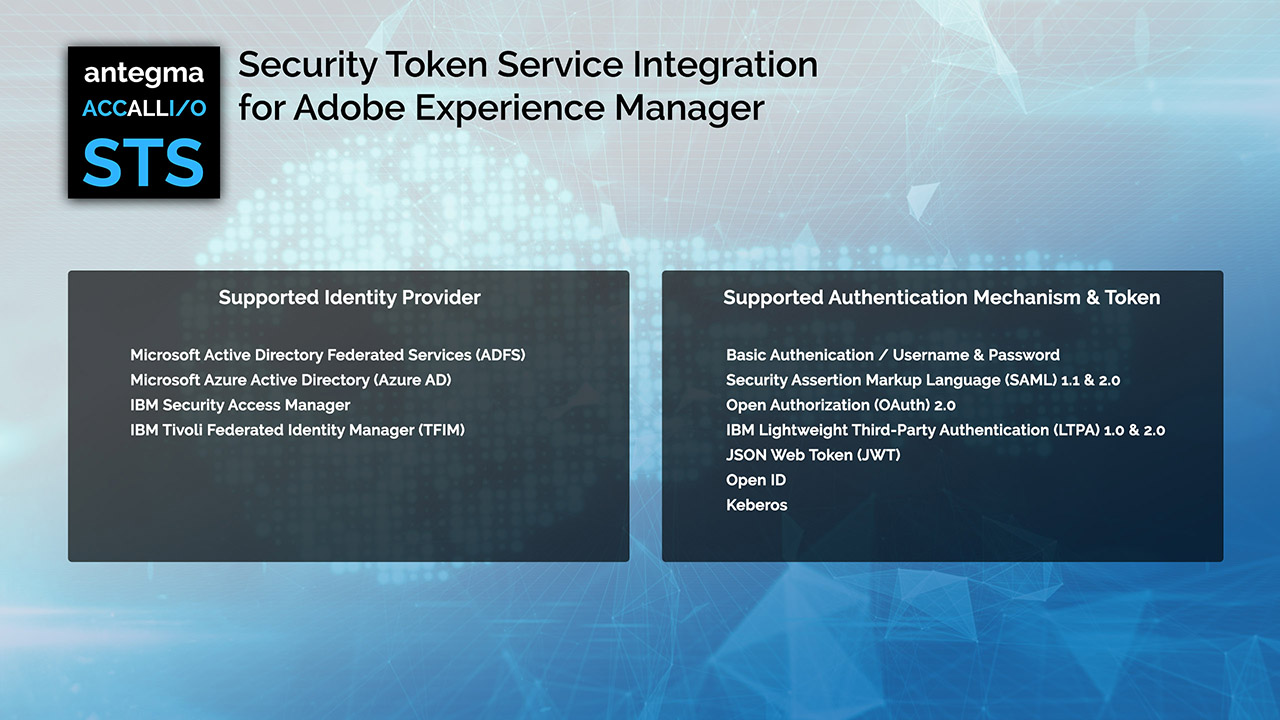 Tivoli Access Manager Download Accallio Sts Security Token Service Integration