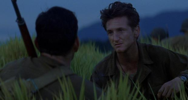 the thin red line terrence malick sean penn
