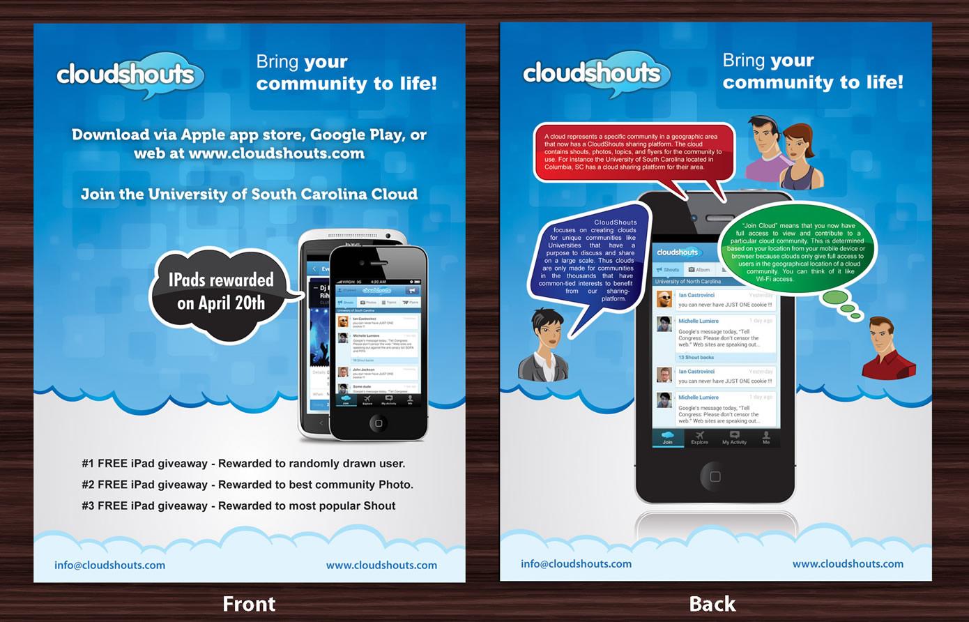 Free poster design app for ipad poster design by smart for ipad giveaway poster design