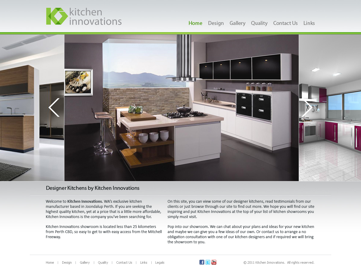 Kitchen Layout Design Website Elegant Playful Kitchen Web Design For A Company By Eric