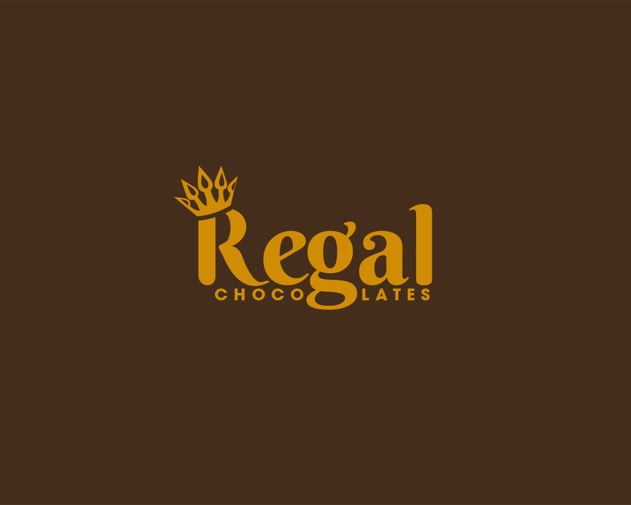 Regal Design Elegant, Playful, Business Logo Design For Regal Chocolate By Rzk Dezigns | Design #6193348
