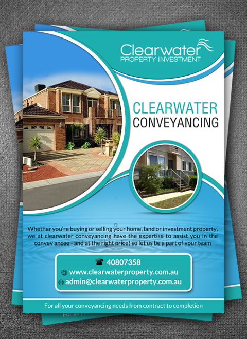 Modern, Professional, Real Estate Flyer Design for a Company by hih7