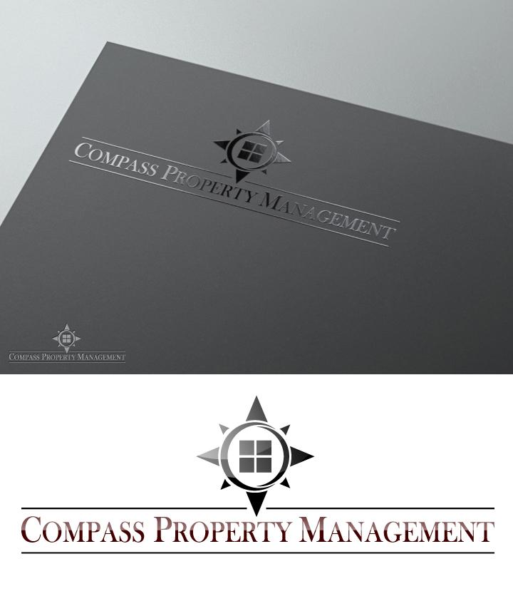 Elegant, Playful, Business Logo Design for Compass Property