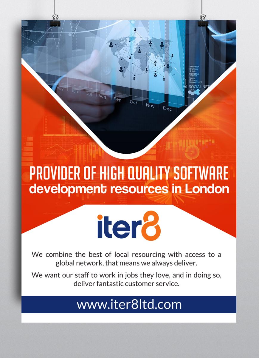 Bold modern poster design for company in united kingdom design 6481245