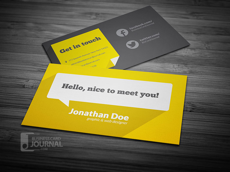 Business Business Card Design for a Company by Tenti Studio Design