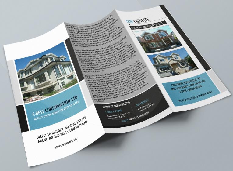 Personable, Economical, Graphic Design Brochure Design for C-Best