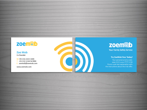 Modern, Bold, Safety Business Card Design for a Company by Vonny