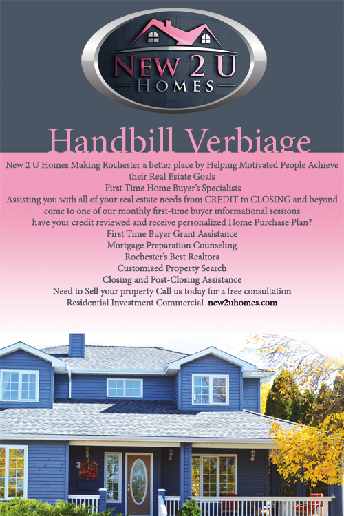 Modern, Professional, Real Estate Flyer Design for a Company by Mlle