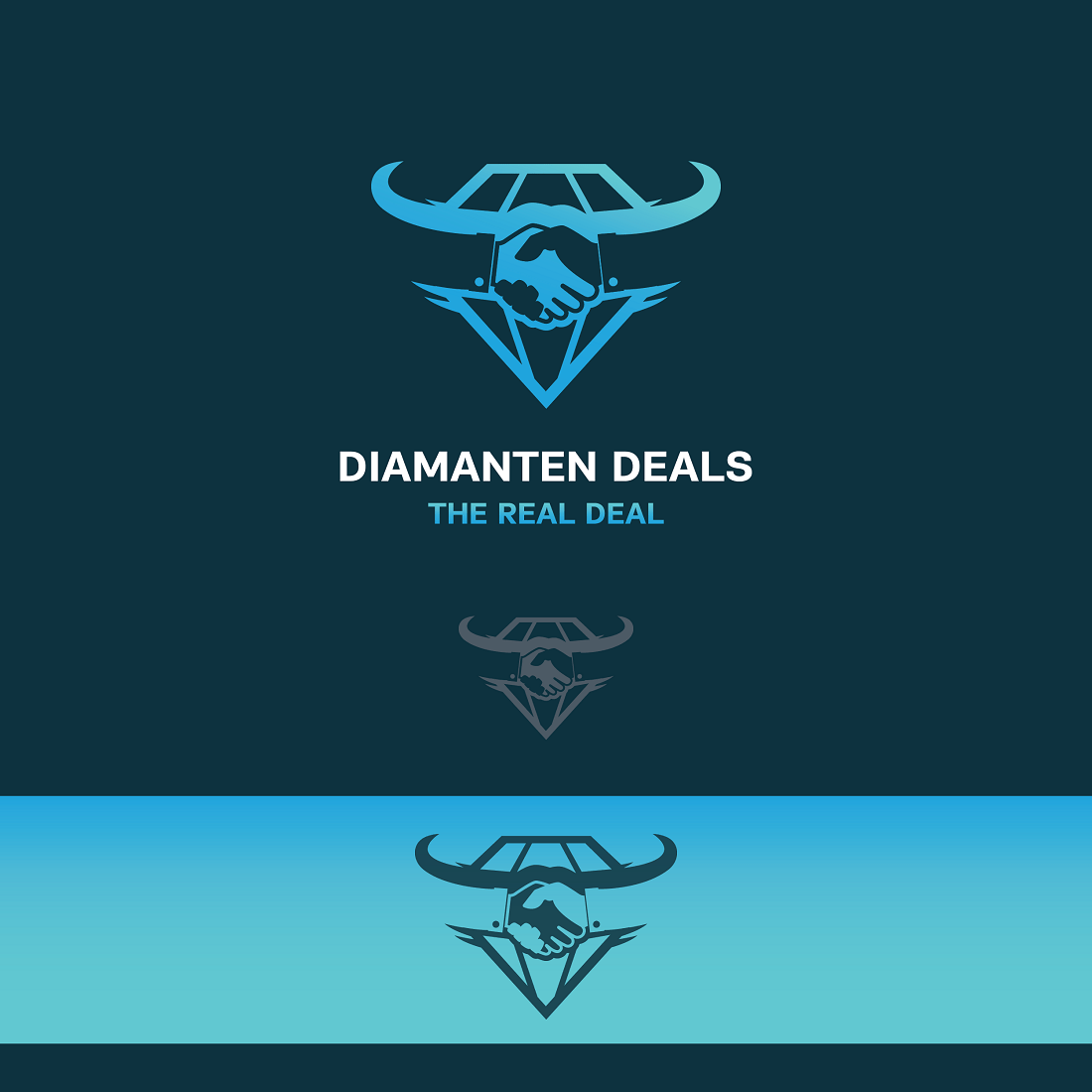 D Deals Modern Professional Jewelry Store Logo Design For Diamanten