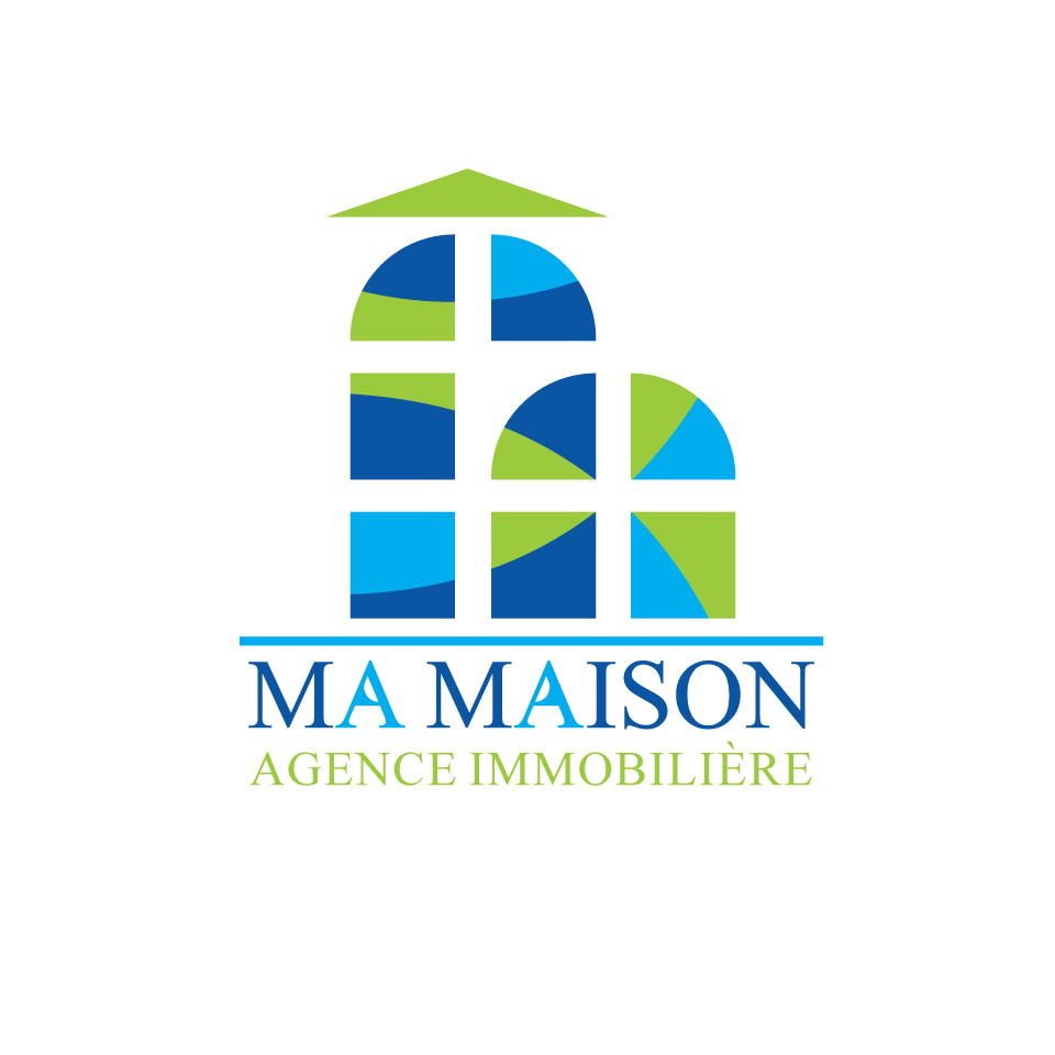 Agence Immobiliere La Maison Modern Bold Logo Design For Ma Maison Agence Immobilière By Qaf