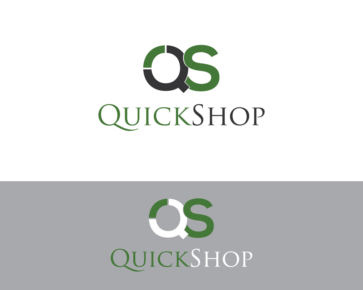 Design Online Shop Upmarket Bold Online Shopping Logo Design For Quick Shop Or
