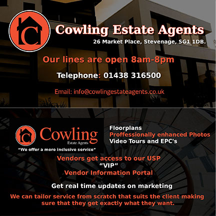 Modern, Upmarket, Real Estate Agent Flyer Design for a Company by