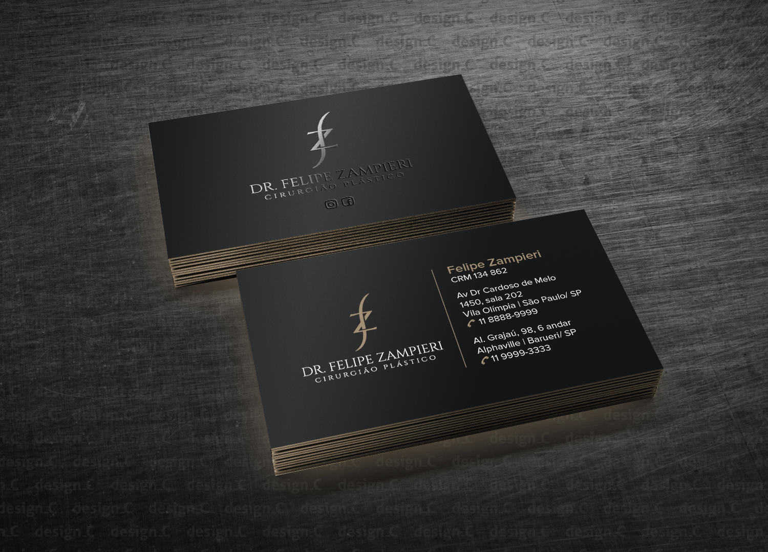 C En A Vesten Elegant Serious Business Business Card Design For A Company By