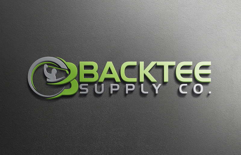 Modern, Colorful, Clothing Logo Design for BackTee Supply Co by