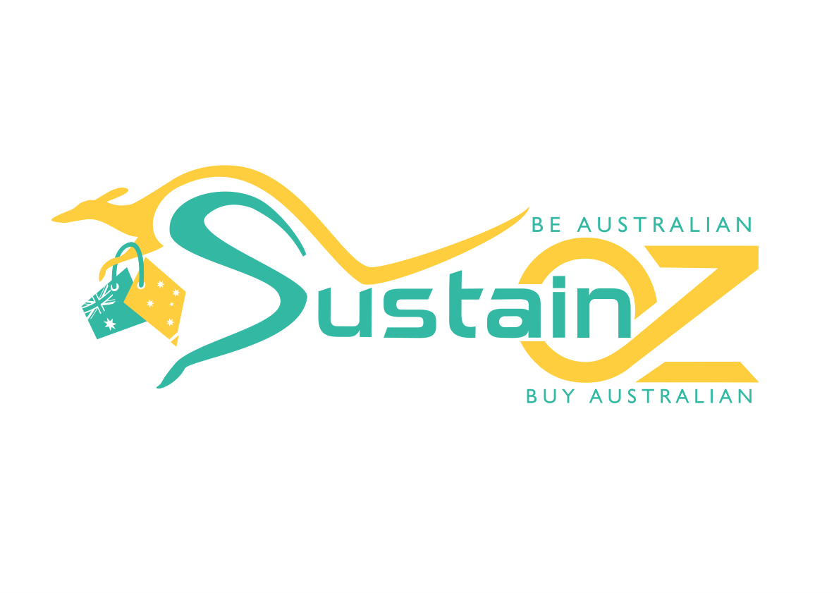 Online Australian Shopping Bold Modern Online Shopping Logo Design For Sustain Oz Slogan