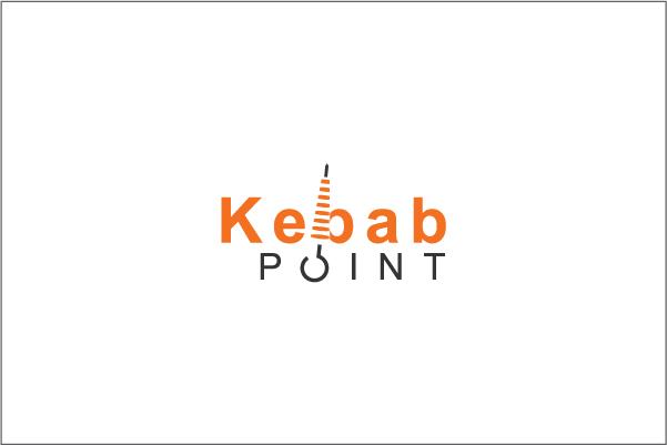Elegant, Playful, Fast Food Restaurant Logo Design for Kebab Point