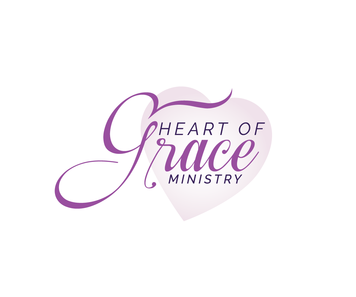 Prayer Ministry Elegant Personable Business Logo Design For Heart Of Grace